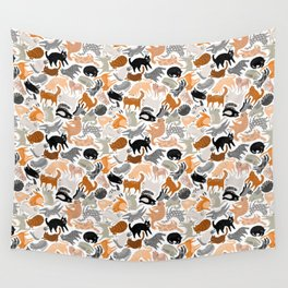 Cats Forever by Veronique de Jong Wall Tapestry