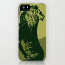 leone pistacchio iPhone Case