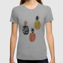 Pineapples Art Print T-shirt