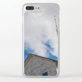 tower to the sky Clear iPhone Case