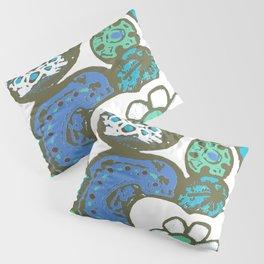 DUSTY BLUE GARDEN Pillow Sham