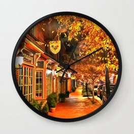 Gordonsville, Virginia a Night Wall Clock