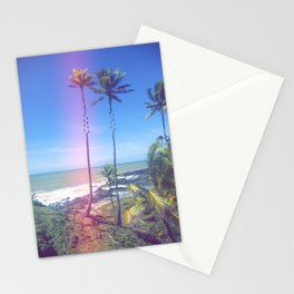 Fragmented Palm Stationery Cards