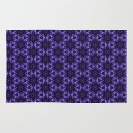 Purple Passion Pattern 12 Rug