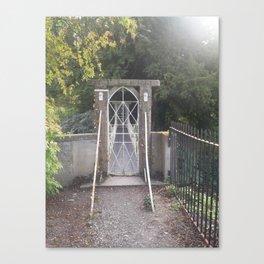 Secret Gate Canvas Print
