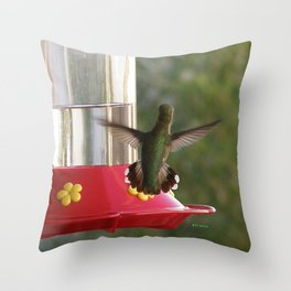This Feeder is MINE! Throw Pillow