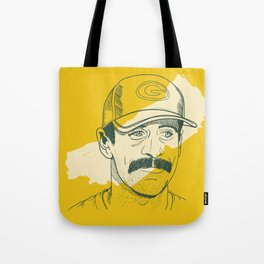 Mustachioed GOAT Tote Bag