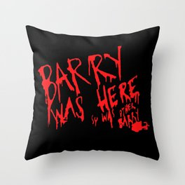 Barry Was Here - Archer Throw Pillow