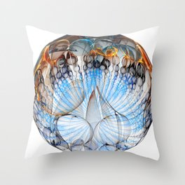 Colored Sphere Throw Pillow
