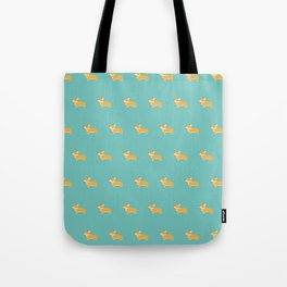 Corgi pattern Tote Bag