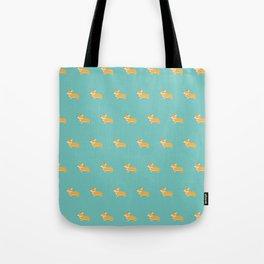 Corgi pattern Tote Bag