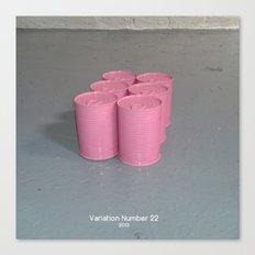 Variation Number 22 (photo) Canvas Print