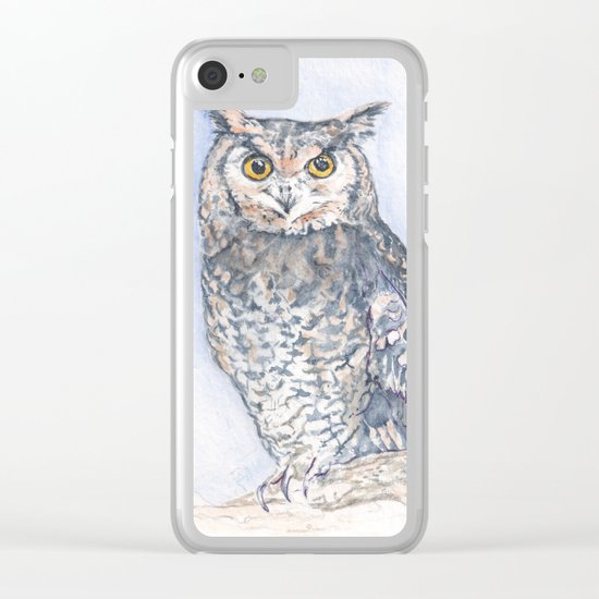 The Less He Spoke Clear iPhone Case
