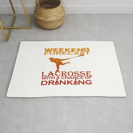 WEEKEND FORECAST LACROSSE Rug
