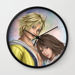 Yuna & Tidus [Final Fantasy X] Wall Clock