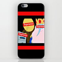 supreme iPhone & iPod Skins featuring Supreme Time! by Miss K'Tahni
