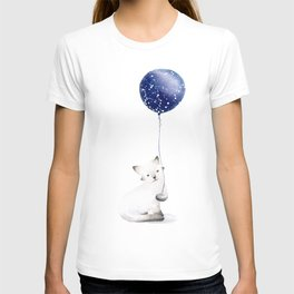 Cat With Balloon T-shirt