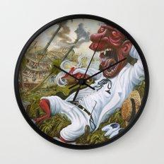 The Devil's Knee Wall Clock