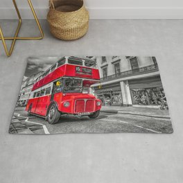 London Routemaster 15 Rug