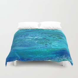 Colors of the Sea No.1 Duvet Cover