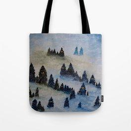 Trollen i snotackta skogen Tote Bag