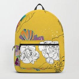Sunshine orchids Backpack