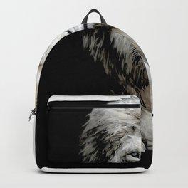 yin yang lion Backpack