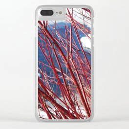 Winter still life Clear iPhone Case