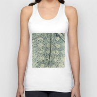 feather Tank Tops featuring feather by Ingrid Beddoes
