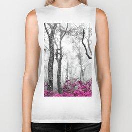 Princess Pink Forest Garden Biker Tank