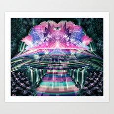 Inside The Fractal Art Print