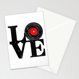 Love Vinyl Stationery Cards
