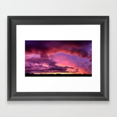 Redsky Framed Art Print