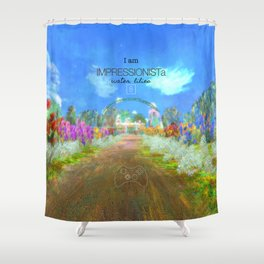 IMPRESSIONISTa Water Lilies Shower Curtain