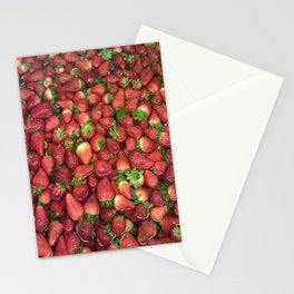 Strawberry Song Stationery Cards