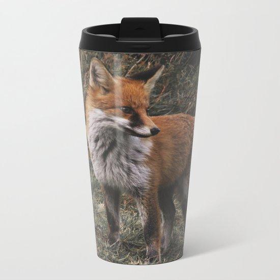 Feelin' Foxy Metal Travel Mug