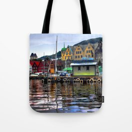Bergen Harbour Tote Bag