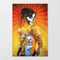 VooDoo Woman Canvas Print