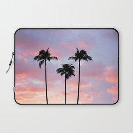 Palm Trees Sunset Photography Laptop Sleeve