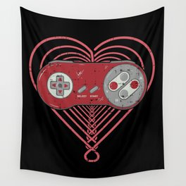 Gaming Control Tools Wall Tapestry