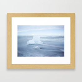 Frozen Heart Framed Art Print