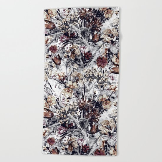 Winter Garden Beach Towel