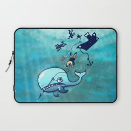 Whales are Furious! Laptop Sleeve