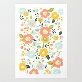 Airy Garden I Art Print