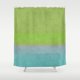 Green greenery greenish Shower Curtain
