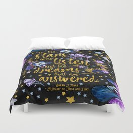 A Court of Mist and Fury - To The Stars Duvet Cover