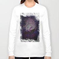 kraken Long Sleeve T-shirts featuring kraken by Molnár Roland