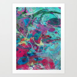 Abstract Painting ; Nice Dream Art Print