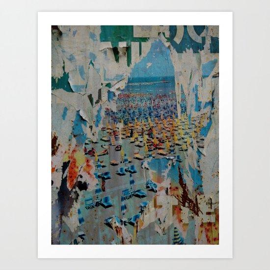 Summer 70's Art Print