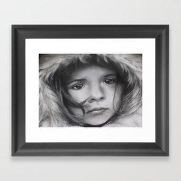 The Homeless Child Framed Art Print